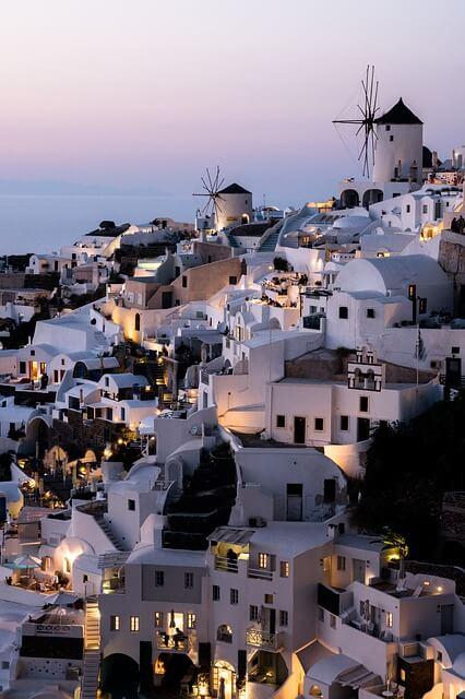Домівки на узбережжі Греції